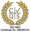 Malcolm Ross ISO 9001 Accreditation